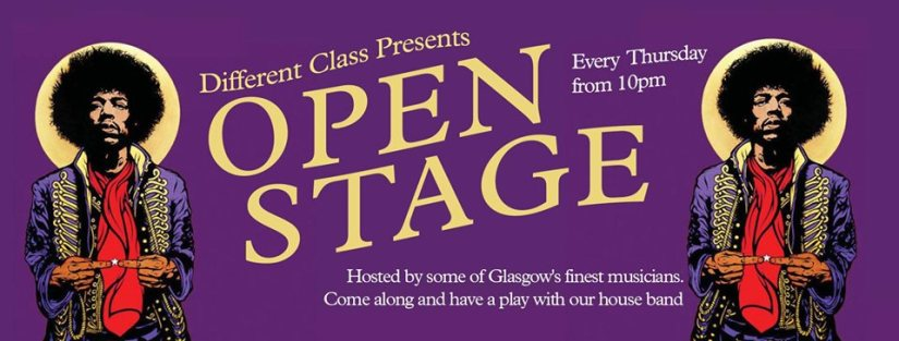 different class open stage