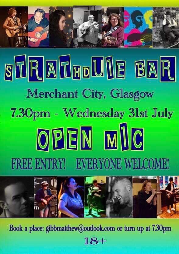 strathduie open mic